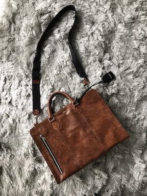 アンティックホースレザー・ブリーフバッグ DECADE(No-00960) ビジネス Antique Horse Leather Brief Bag